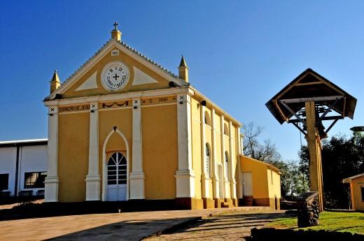 Capela de Caravagio- roteiro religioso